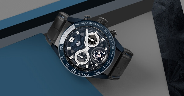 "Baselworld 2018: TAG Heuer Carrera ""Tête de Vipère"" Chronograph Tourbillon Chronometer"