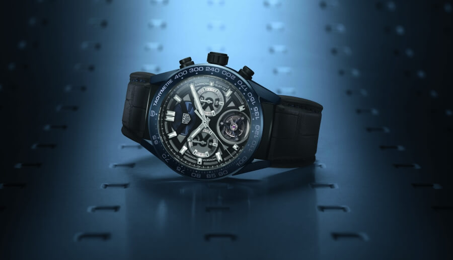 "The New TAG Heuer Carrera ""Tête de Vipère"" Chronograph Tourbillon Chronometer"
