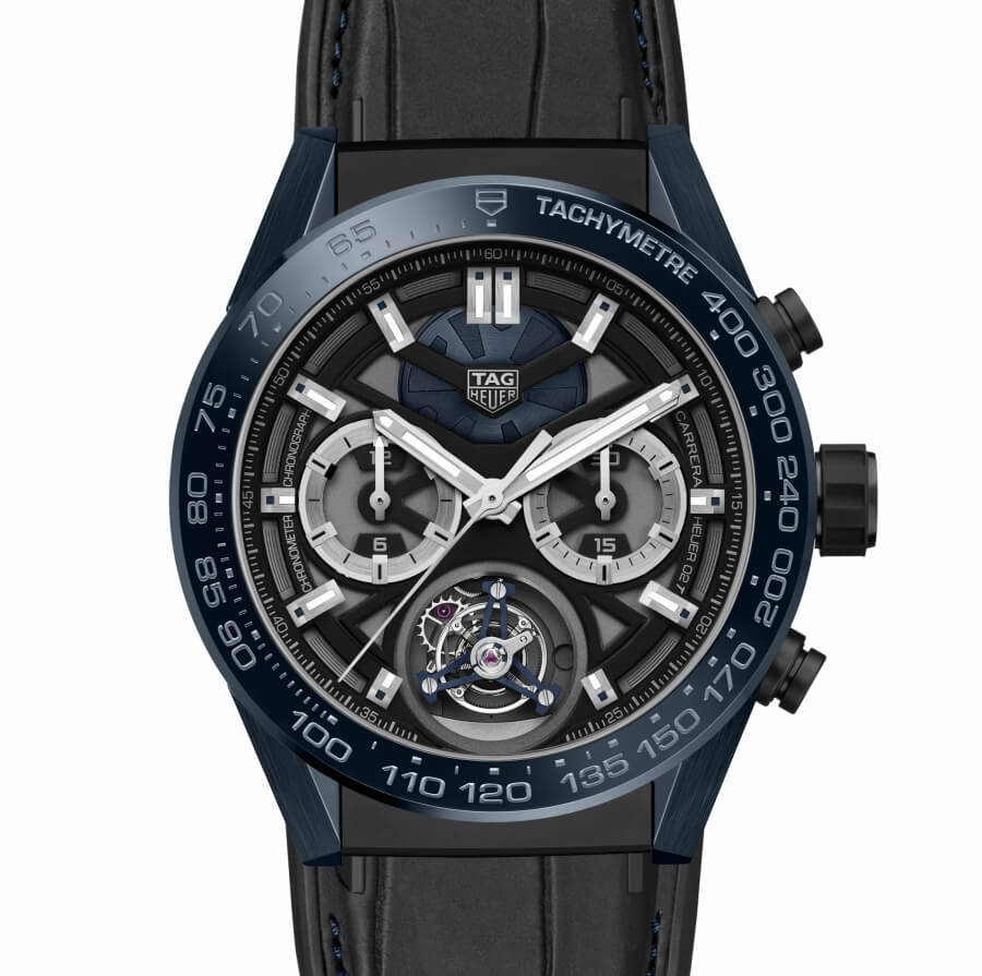 "Baselworld 2018 TAG Heuer Carrera ""Tête de Vipère"" Chronograph Tourbillon Chronometer"