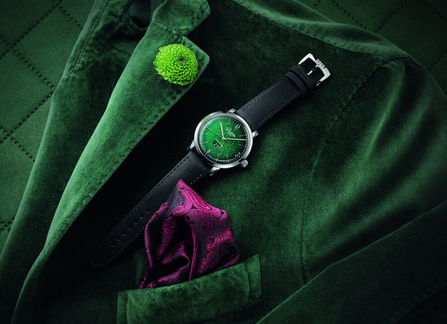Glashütte Original Sixties Green Dial