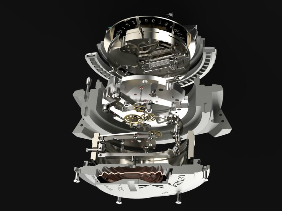 Favre-Leuba Raider Bathy 120 MemoDepth Movement
