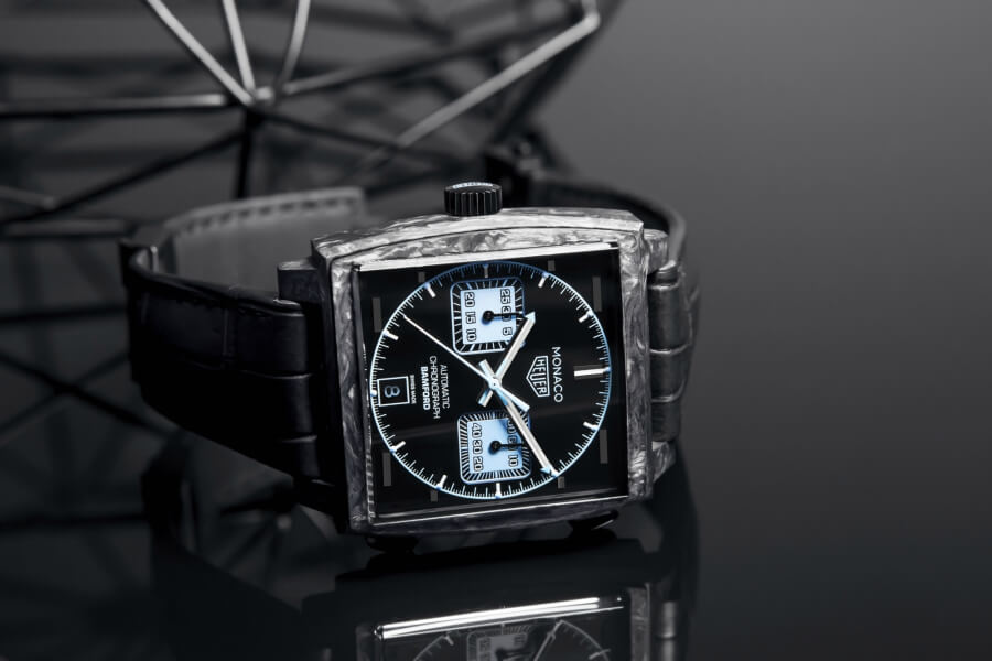 The New TAG Heuer Monaco Bamford