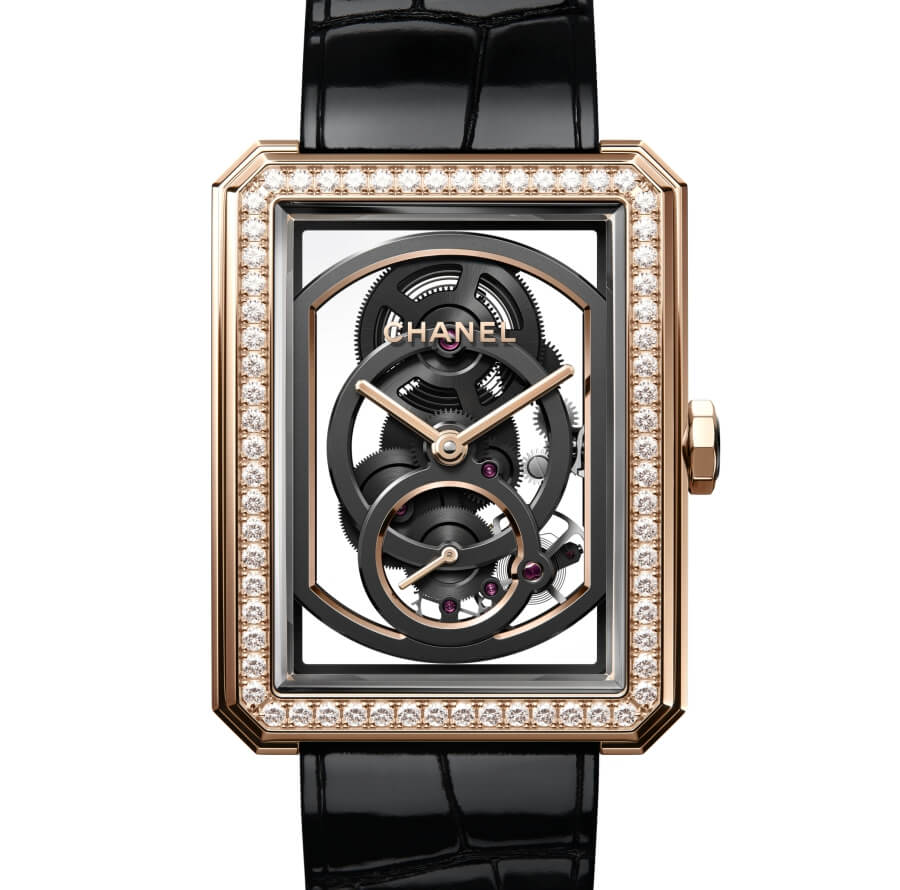 Chanel BOY∙FRIEND Skeleton Watch