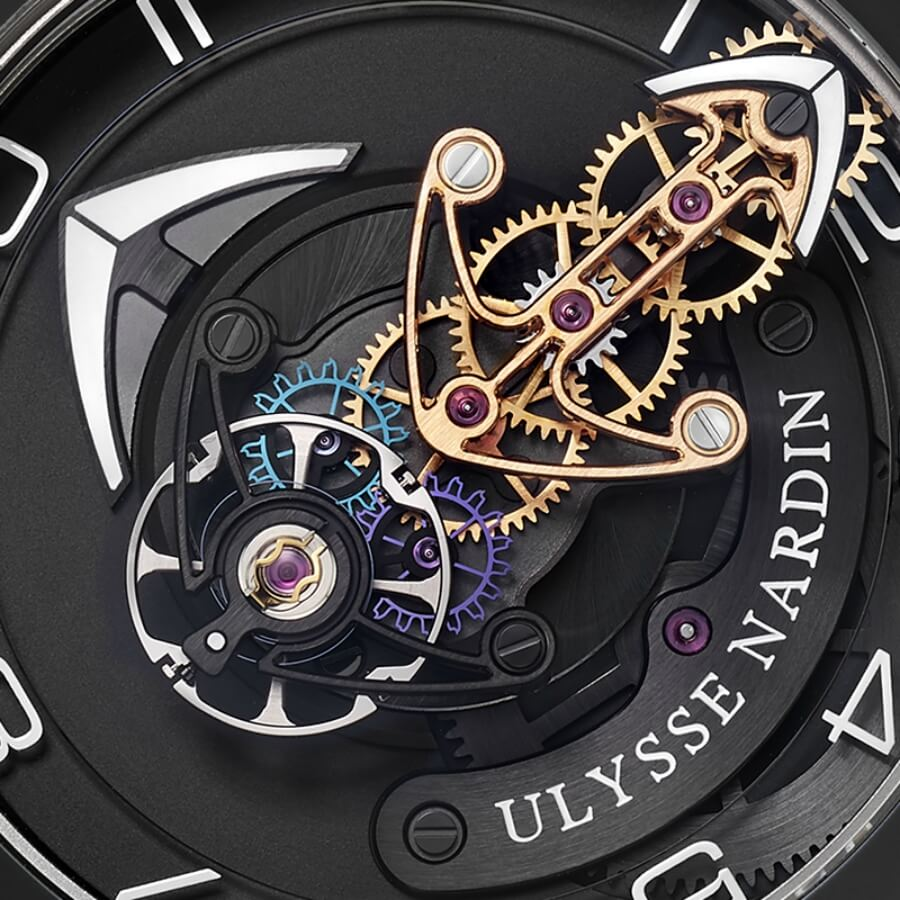 The New Ulysse Nardin Freak Out Watch