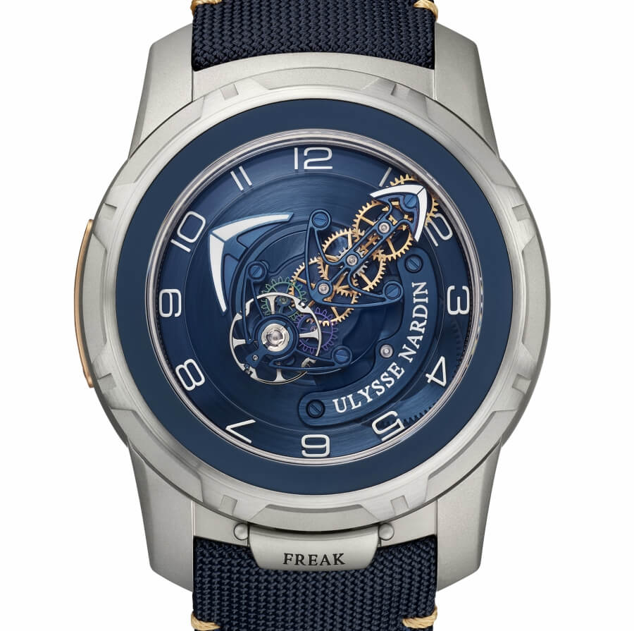 Ulysse Nardin Freak Out Blue Gold