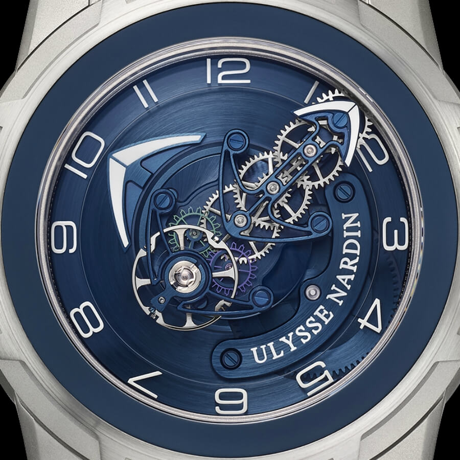 The New Ulysse Nardin Freak Out Blue Gold