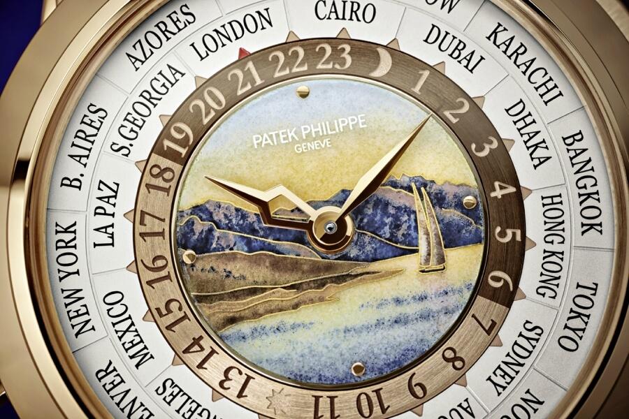 Patek Philippe Ref. 5531R Dial