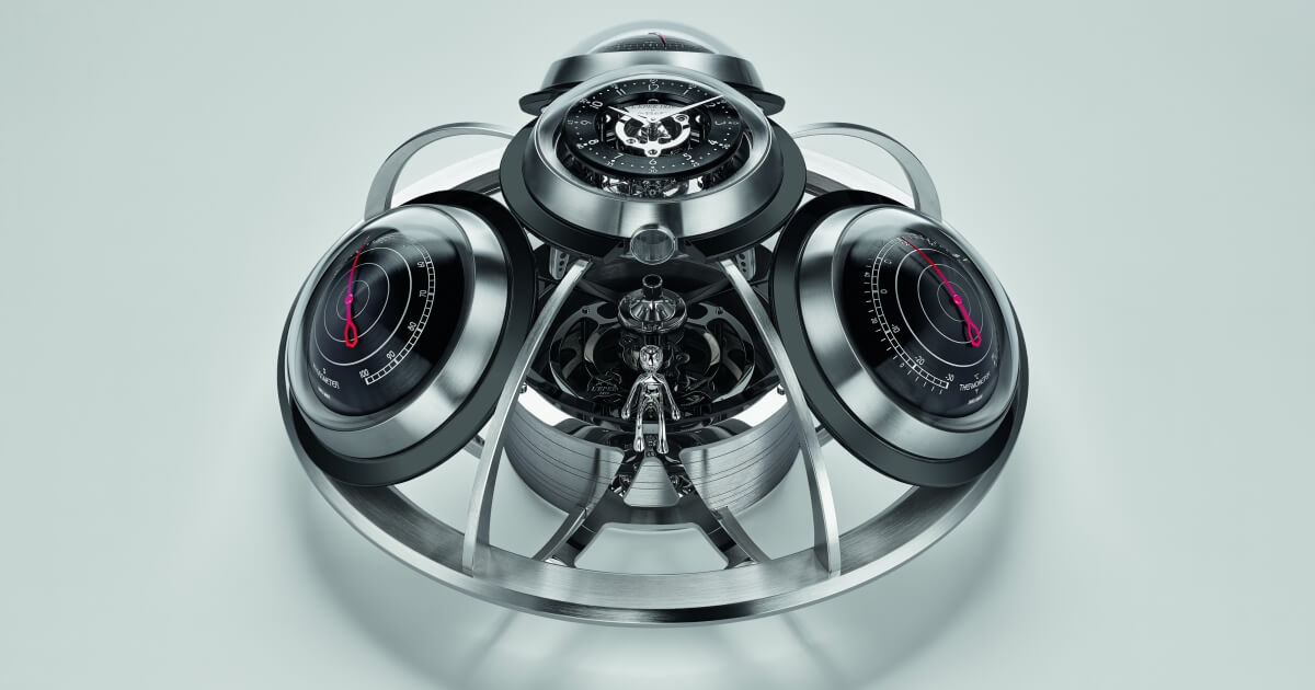 The Fifth Element By MB&F And L'Epée 1839
