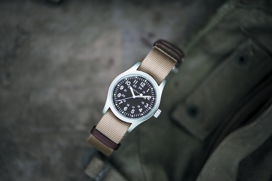 The New Hamilton Khaki Field Mechanical 38mm