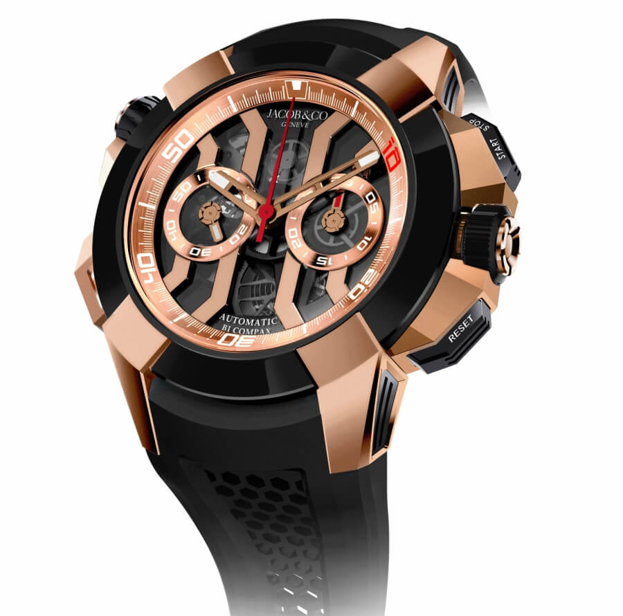 Baselworld Jacob & Co. Epic X Chrono Luis Figo Limited Edition