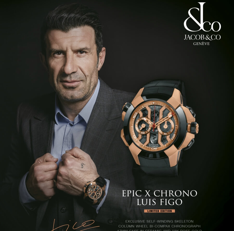 Jacob & Co. And Luis Figo