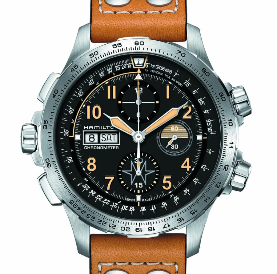The New Hamilton Khaki X-Wind Auto Chrono Limited Edition