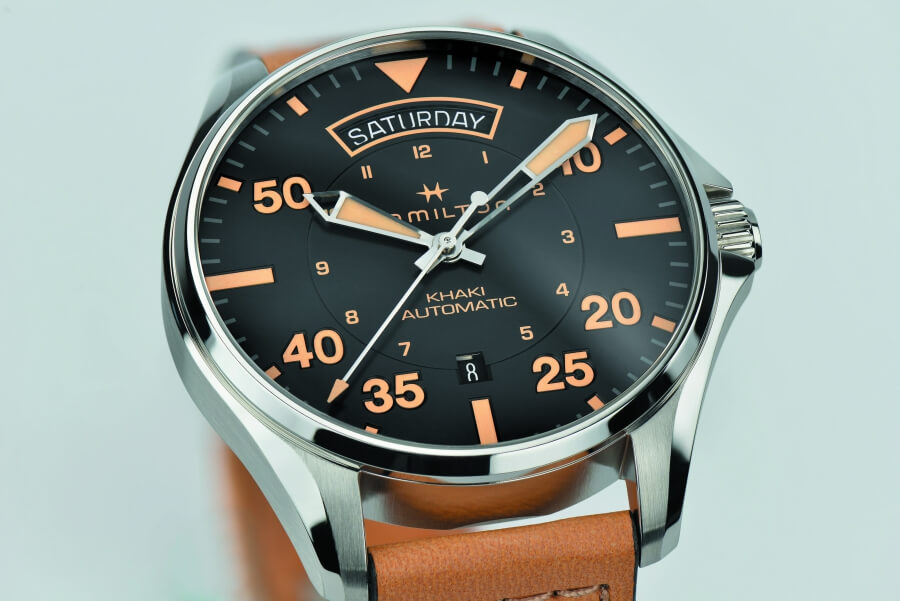 Hamilton Khaki Pilot Auto Day Date Watch Review