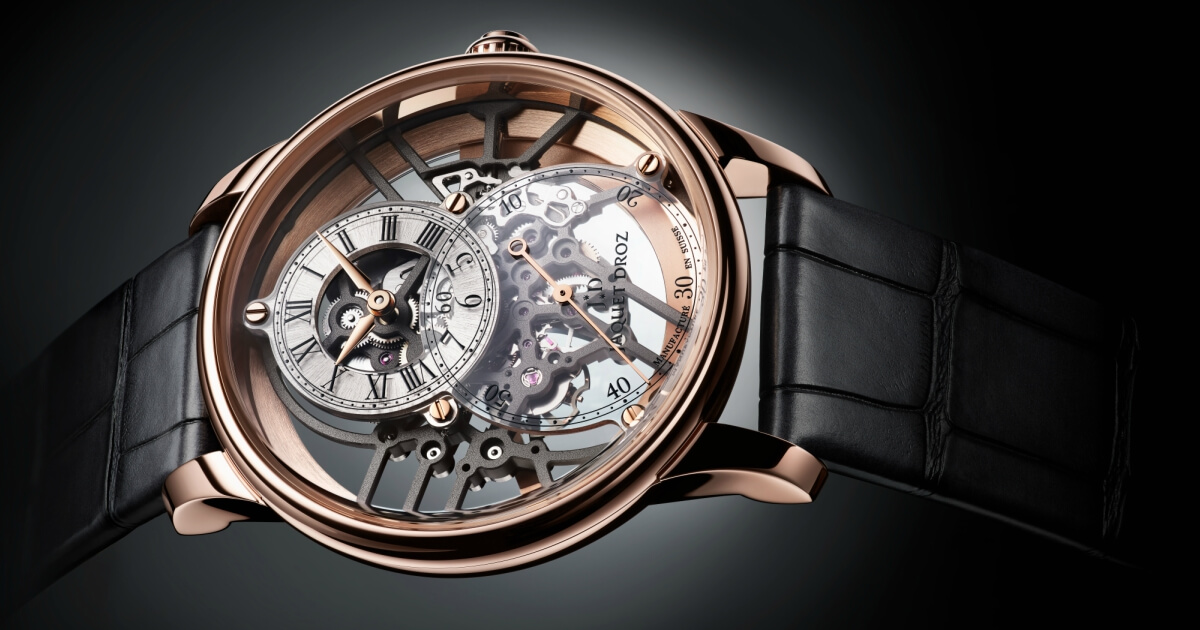 Baselworld 2018: Jaquet Droz Grande Seconde Skelet-One