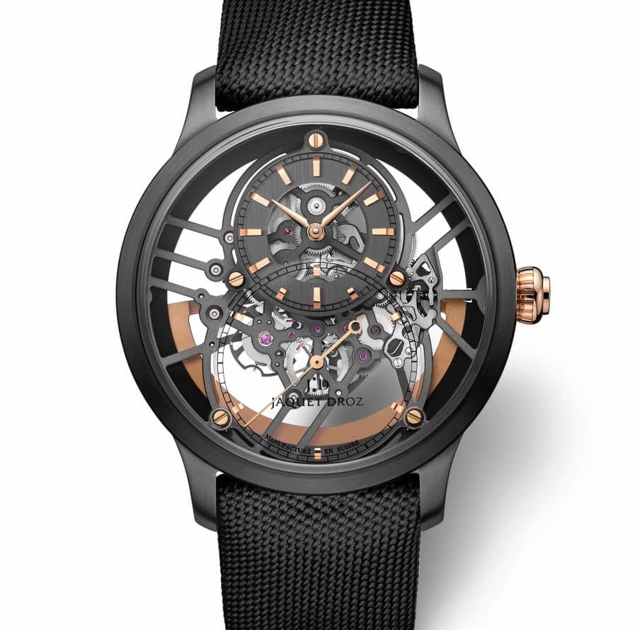 Jaquet Droz Grande Seconde Skelet-One Black Ceramic