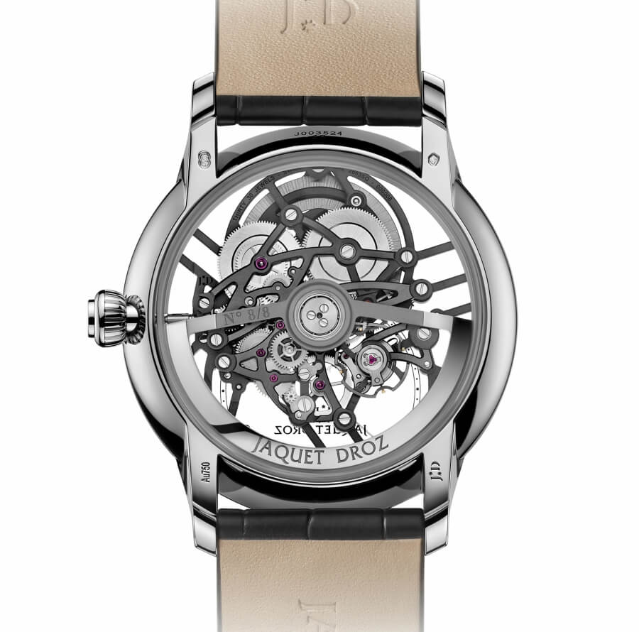 Jaquet Droz Grande Seconde Skelet-One Movement
