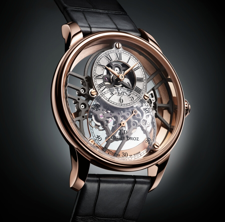 The New Jaquet Droz Grande Seconde Skelet-One