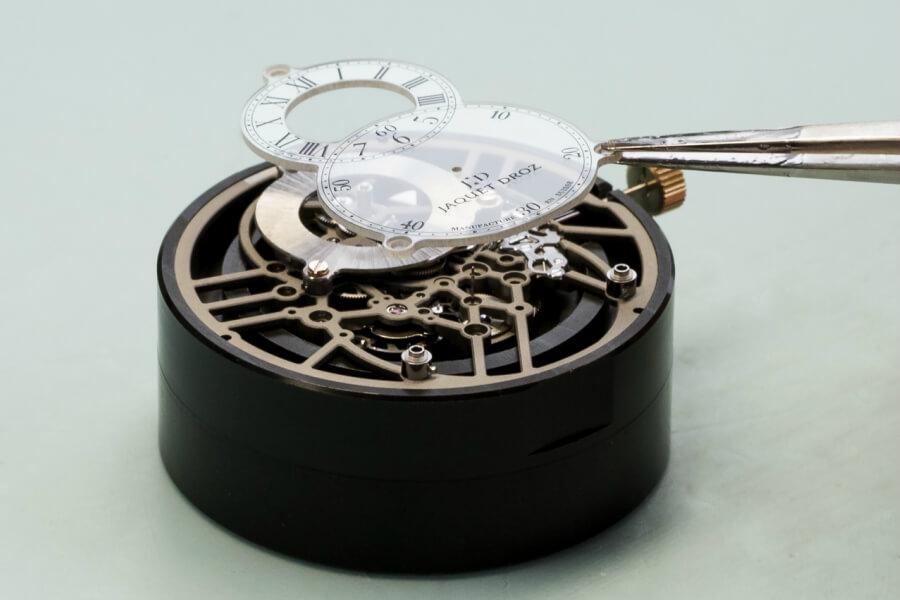 Jaquet Droz Grande Seconde Skelet-One Dial