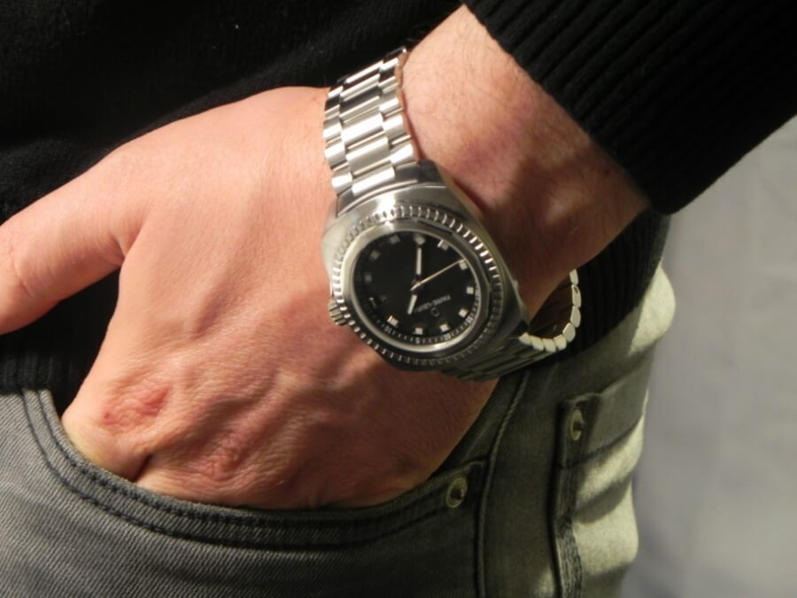 Favre-Leuba Raider Sea King Steel Bracelet