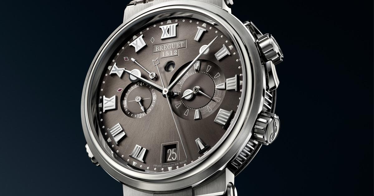 Baselworld 2018: Breguet Marine Alarme Musicale 5547