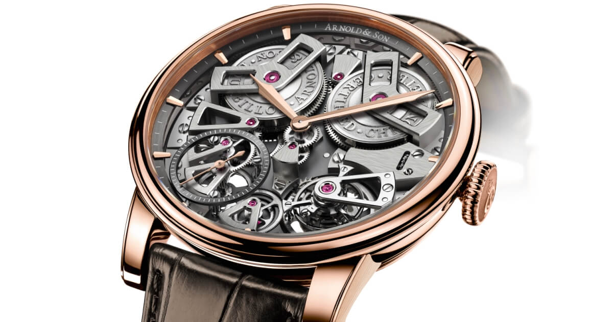 Baselworld 2018: Arnold & Son Tourbillon Chronometer No.36