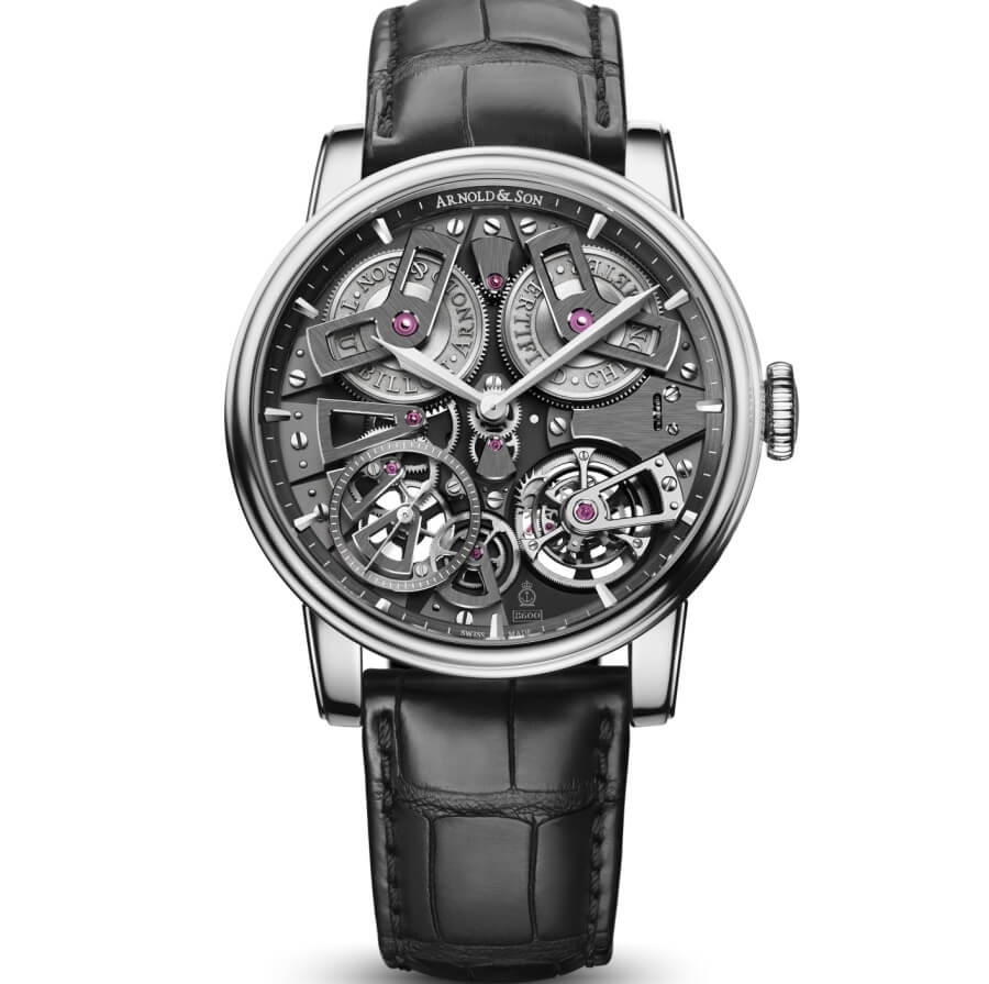 Arnold & Son Tourbillon Chronometer No.36 Stainless Steel