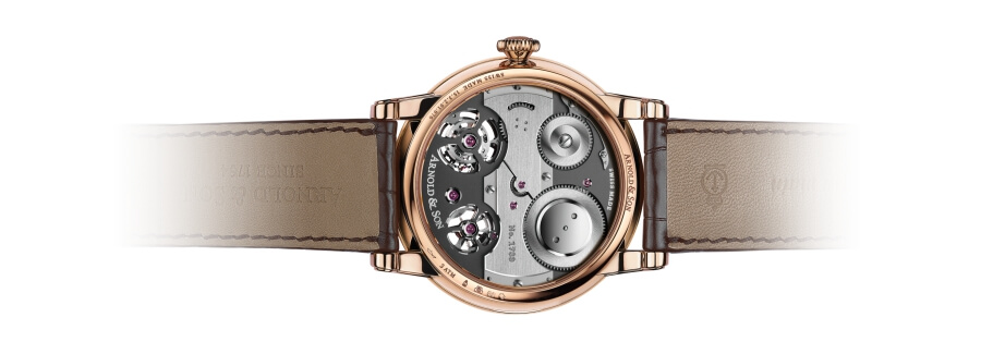 Arnold & Son Tourbillon Chronometer No.36 Case Back