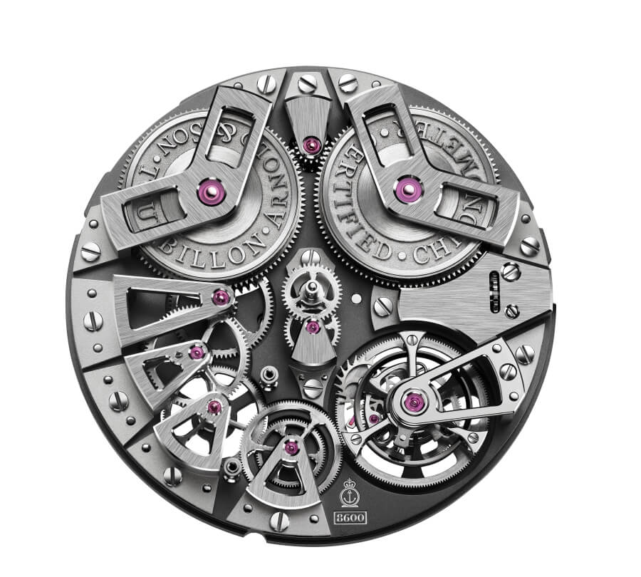 Arnold & Son Tourbillon Chronometer No.36 Movement