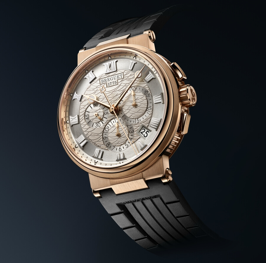 Breguet Marine Chronograph 5527 Gold
