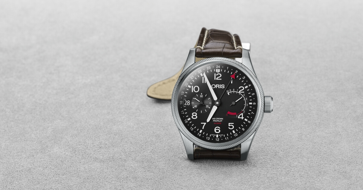 Back To Baselworld 2018: Oris Big Crown ProPilot Calibre 114