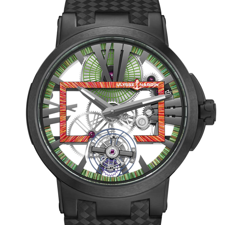 Ulysse Nardin Executive Skeleton Tourbillon Hyperspace Watch Review