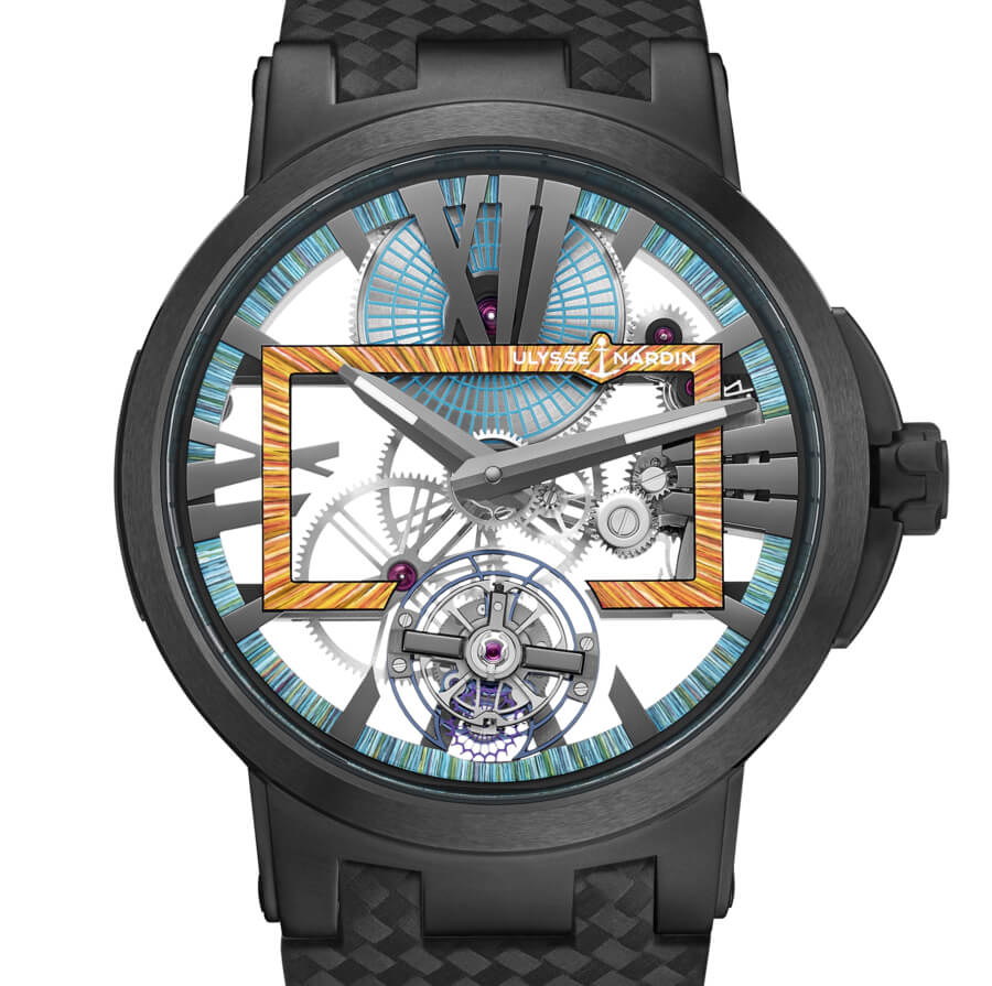 The New Ulysse Nardin Executive Skeleton Tourbillon Hyperspace