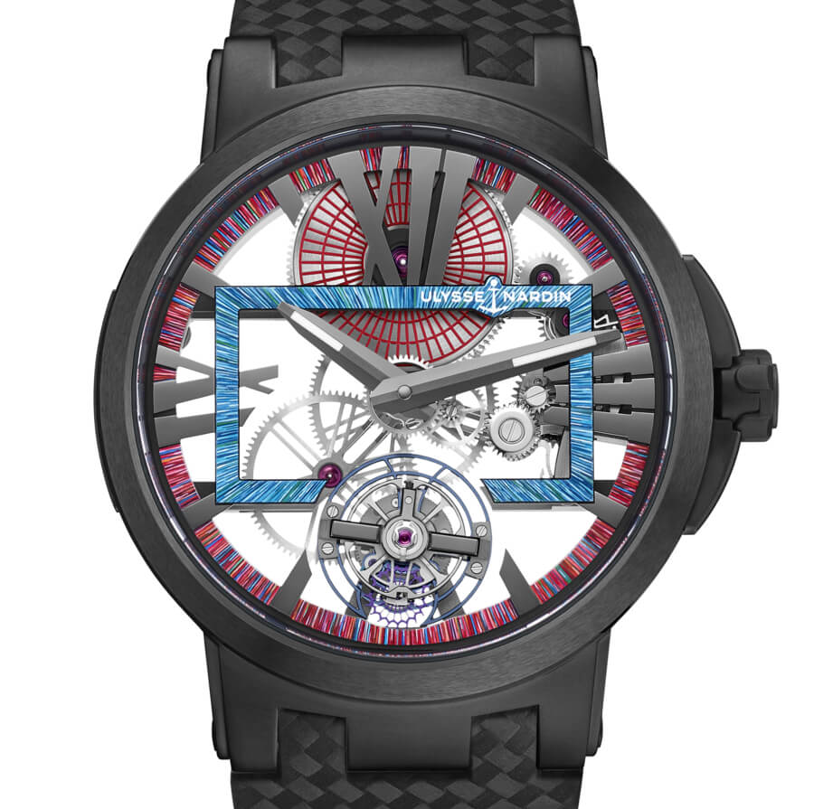 Ulysse Nardin Executive Skeleton Tourbillon Hyperspace Watch