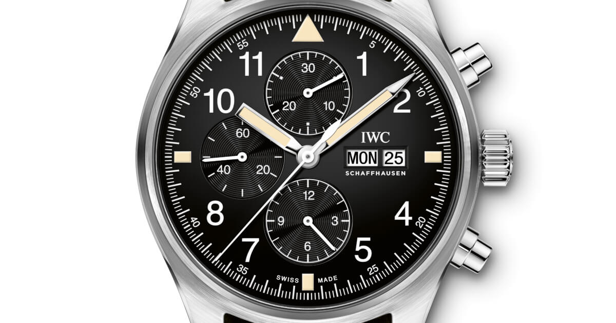 IWC Pilot's Watch Chronograph In The Original Design From 1994 (Specifications and Price)
