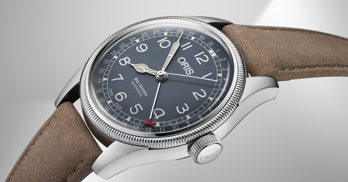 Back To Baselworld 2018: The New Oris Big Crown Pointer Date (Specifications And Price)