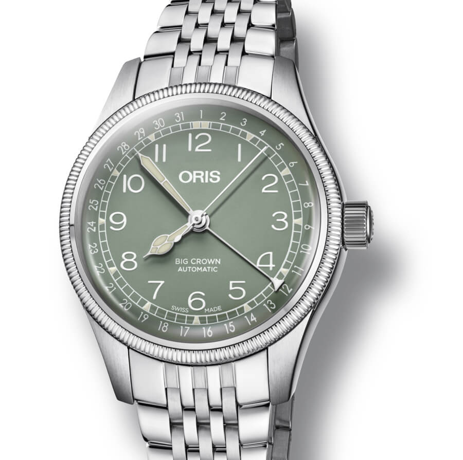 Oris Big Crown Pointer Date Ladies Watch