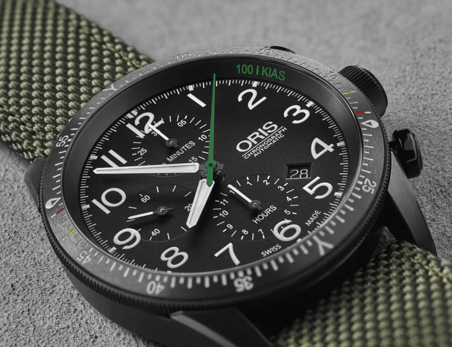 Oris Paradropper LT Staffel 7 Limited Edition