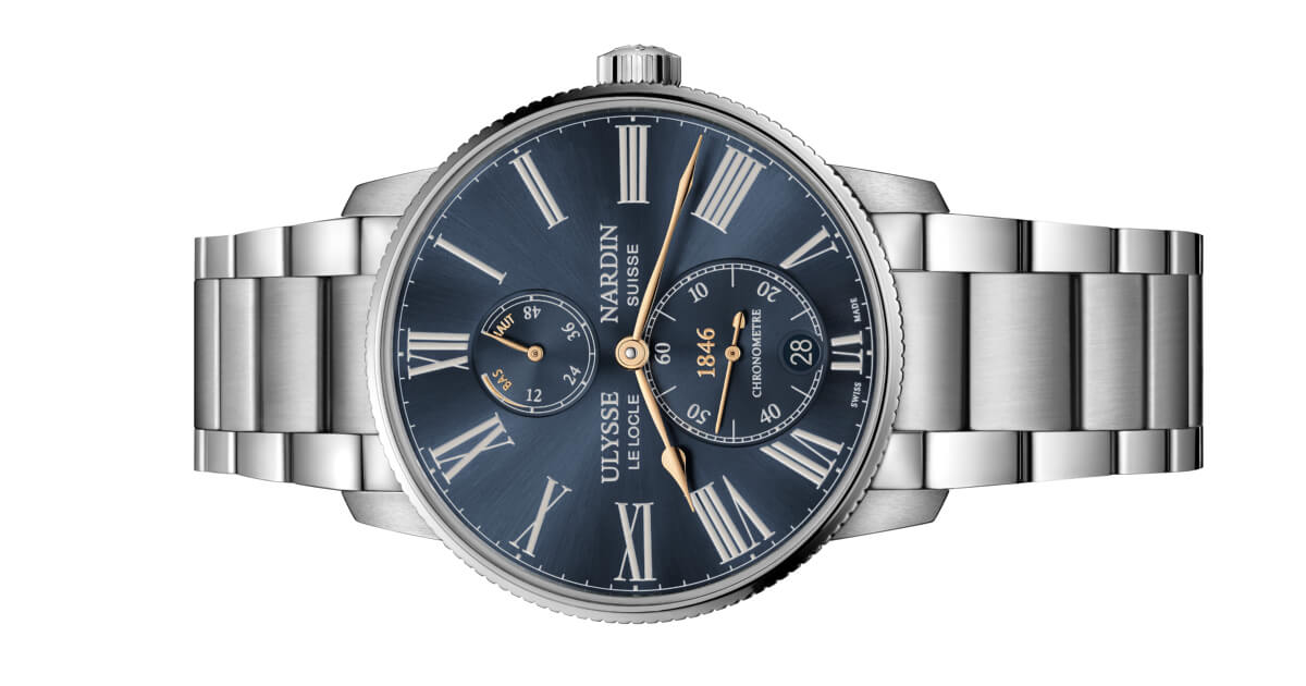 Ulysse Nardin And Farfetch Present A New Marine Torpilleur - Specifications and Price