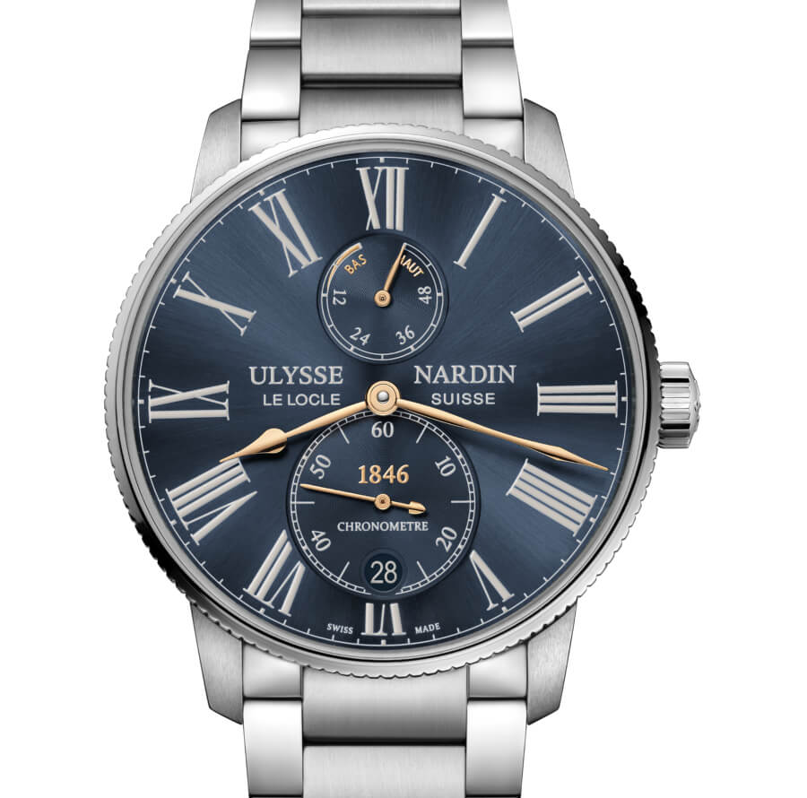 The New Ulysse Nardin Farfetch Marine Torpilleur