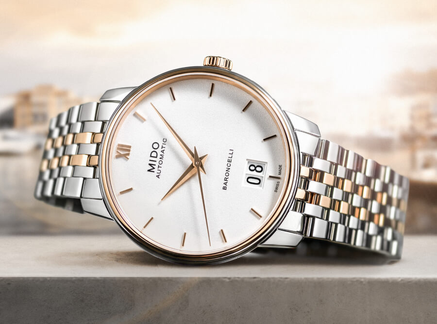 The New Mido Baroncelli Big Date