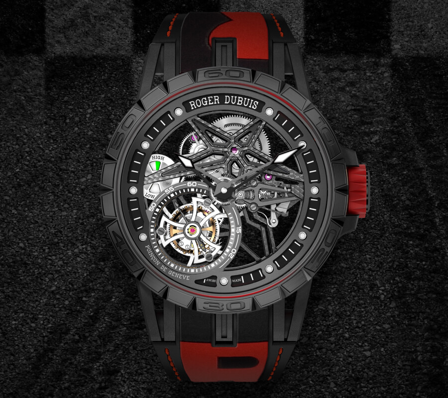 Roger Dubuis Excalibur Spider Pirelli Single Flying Tourbillon