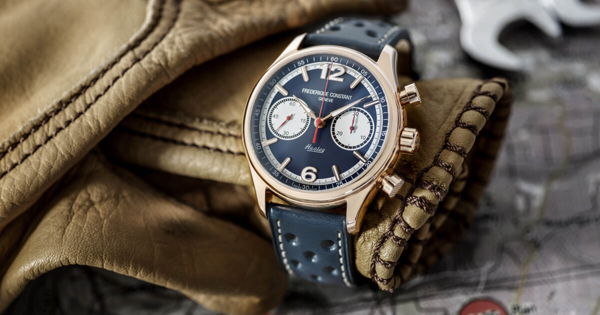 Introducing The Frederique Constant Vintage Rally Healey Chronograph