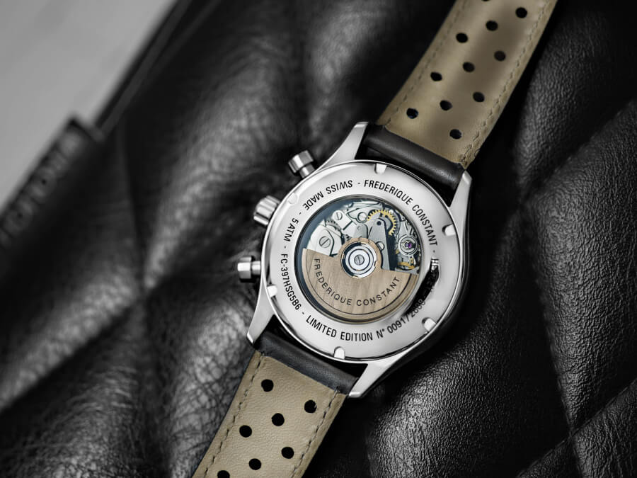 Frederique Constant Vintage Rally Healey Chronograph Movement
