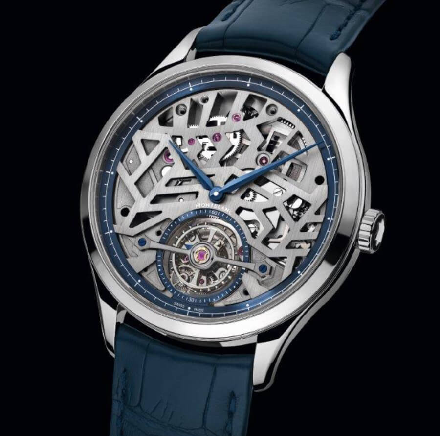 Montblanc Heritage Chronométrie Exo Tourbillon Slim Openworked Watch Review