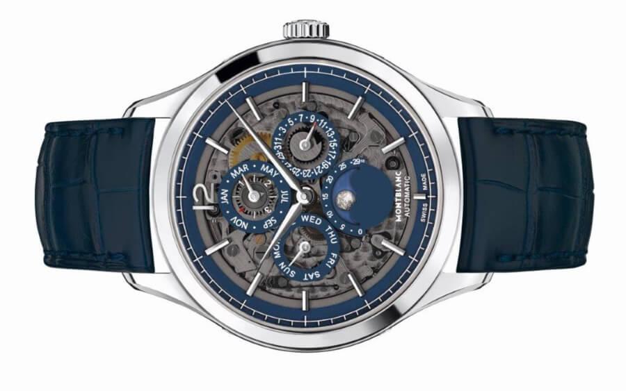 The New Montblanc Heritage Chronométrie Perpetual Calendar Sapphire