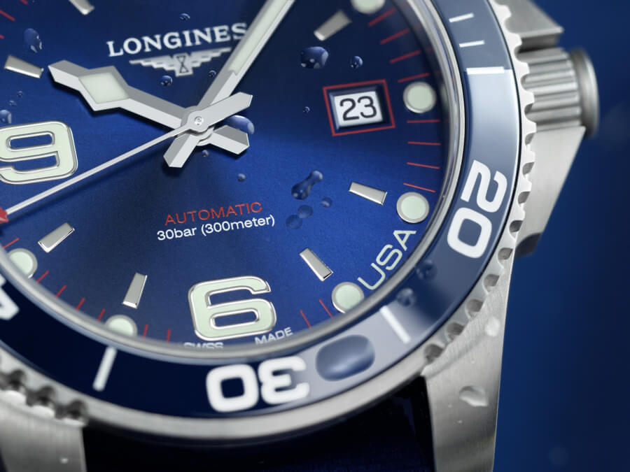 Longines USA Exclusive HydroConquest Edition Dial