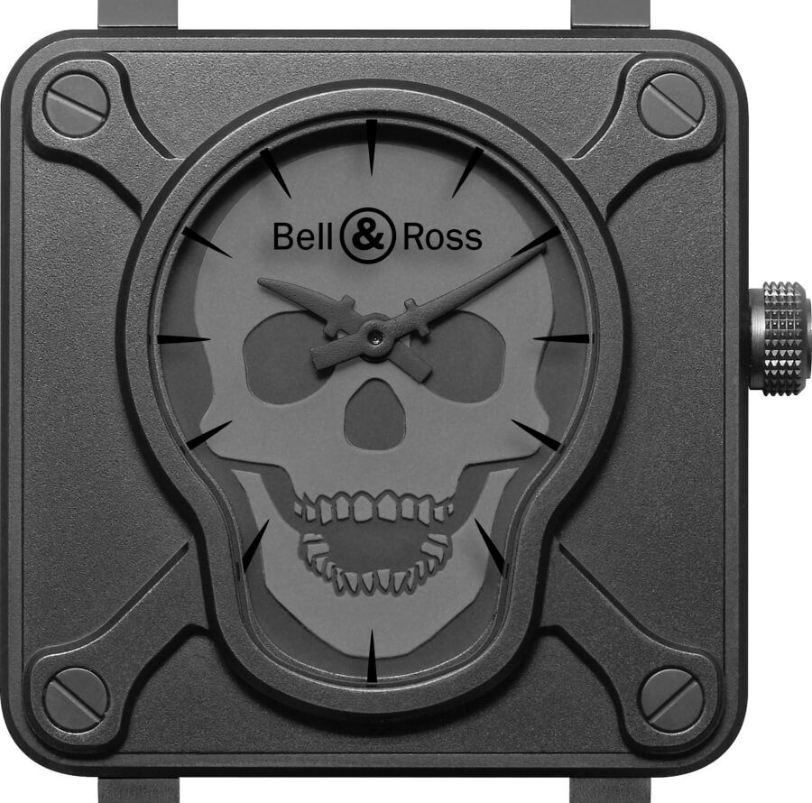 Bell & Ross 2009 BR 01 SKULL