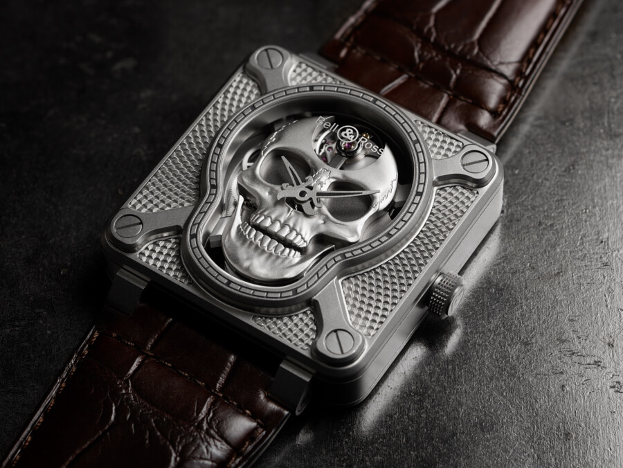 The New Bell & Ross BR 01 Laughing Skull