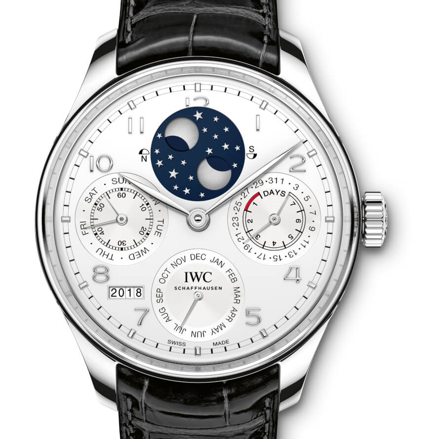 The New IWC Portugieser Perpetual Calendar In Platinum