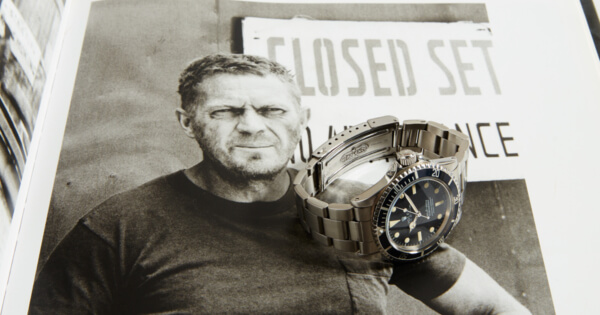 Steve McQueen's Rolex Submariner Wristwatch To Be Auction By Phillips
